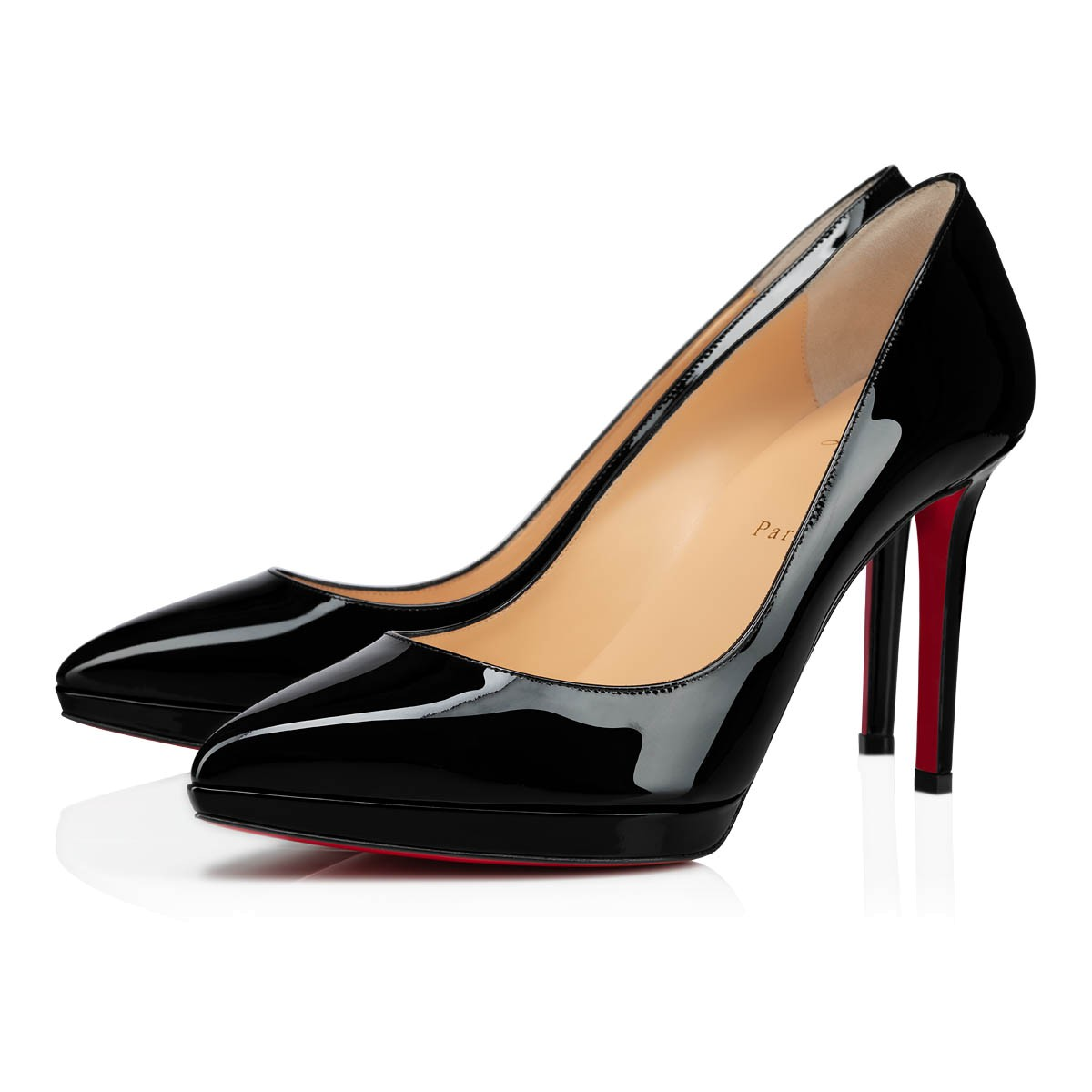 1ed9233fac2 Pigalle Plato 100 Black Patent Leather - Women Shoes - Christian Louboutin