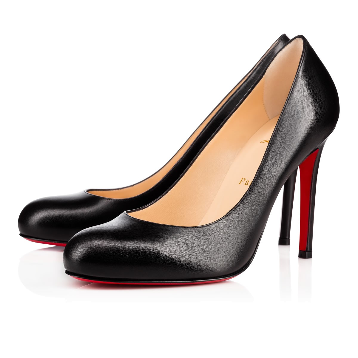Christian Louboutin Leather Pumps 100% Original Wholesale Quality Free Shipping For Cheap kfElkDgICs
