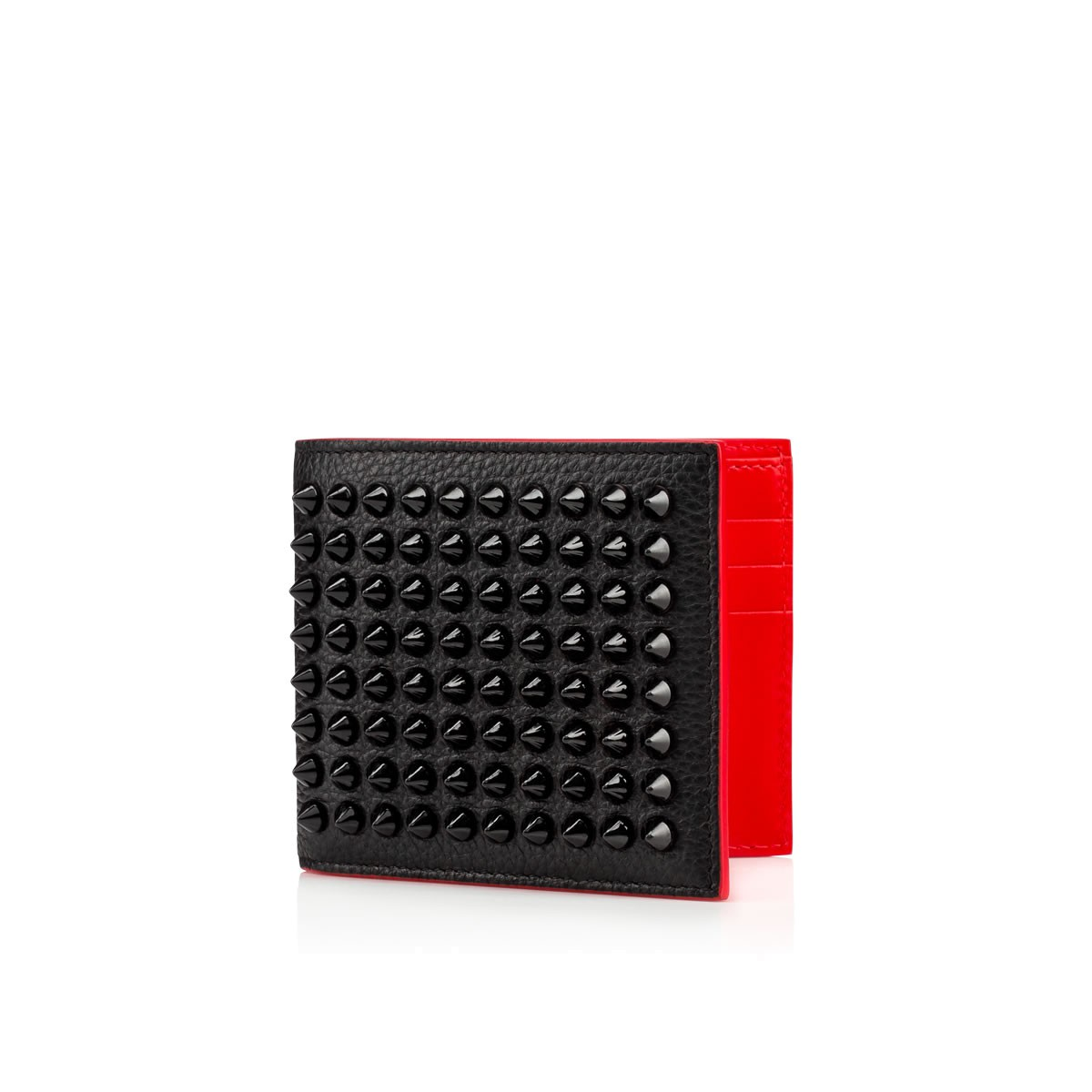 Kaspero Money Clip Wallet Black Calfskin Accessories Christian Louboutin