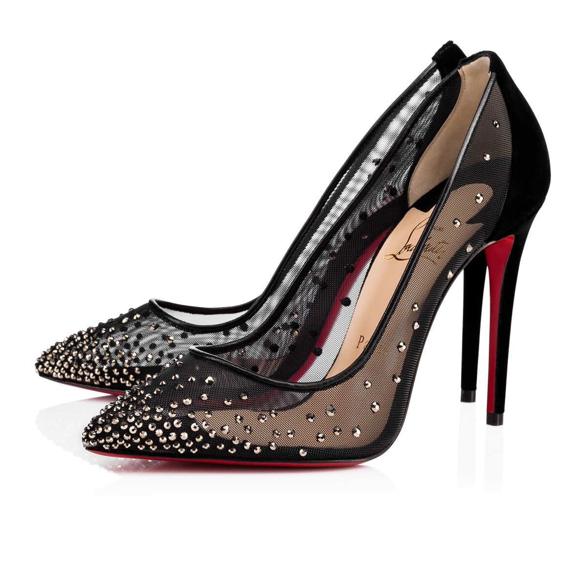 christian louboutin shoes crystal
