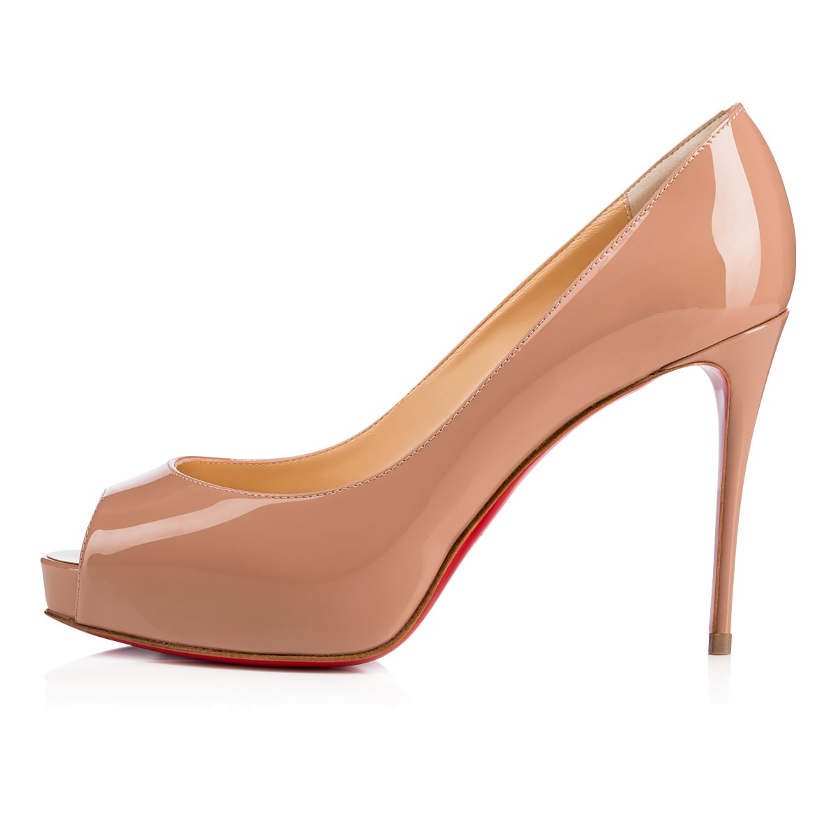 d5c8bd9180d New Very Prive 100 Nude Patent Leather - Women Shoes - Christian Louboutin