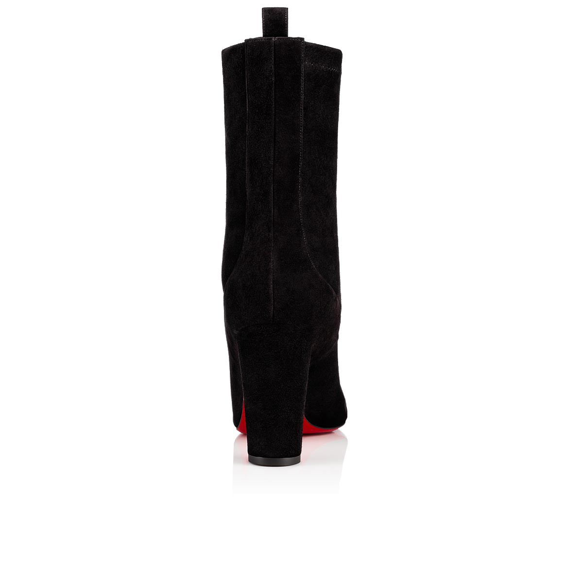 size 40 56d30 9825c Gena Bootie 85 Black Suede - Women Shoes - Christian Louboutin