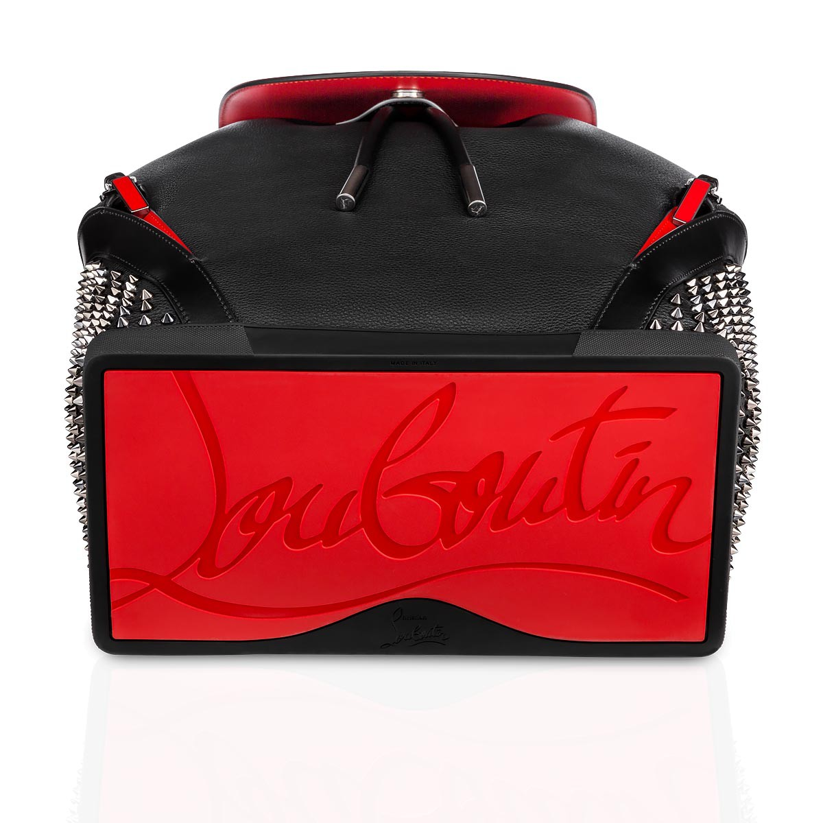 a486985b4e1 Explorafunk Backpack Black Calfskin - Handbags - Christian Louboutin