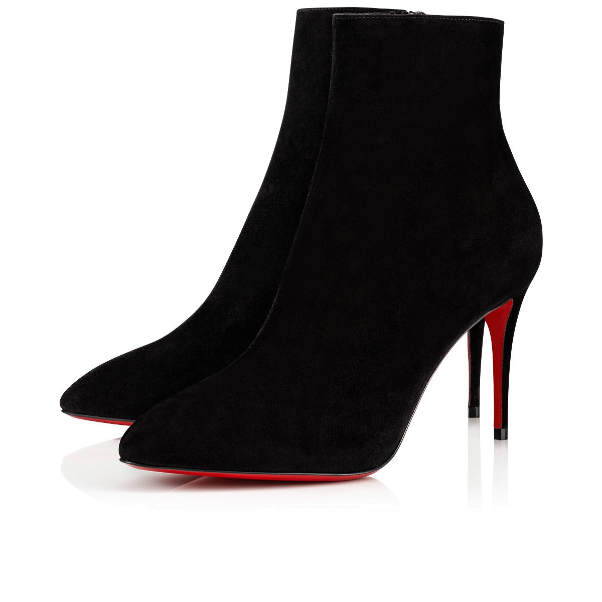 829562c33d14e Eloise Booty 85 Black Suede - Women Shoes - Christian Louboutin