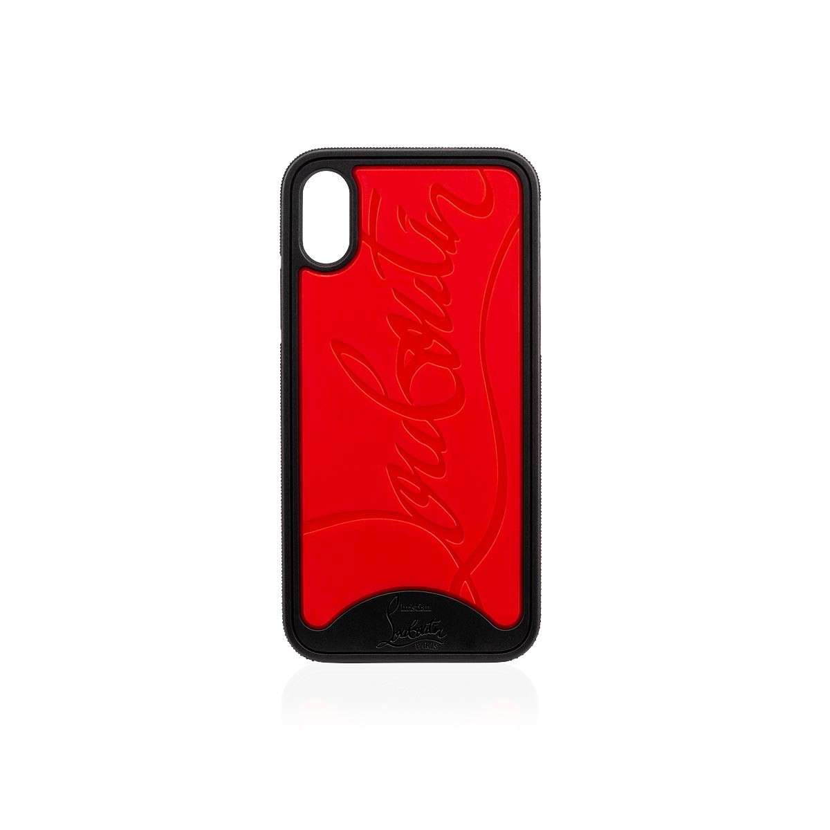 0ead97ce22a Iphone X Loubiphone Red and Black Rubber - Accessories - Christian Louboutin