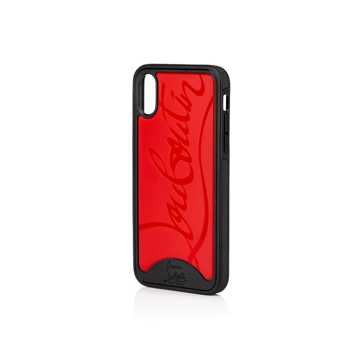 more photos 262a5 249ac Iphone X Loubiphone Red and Black Rubber - Accessories - Christian Louboutin