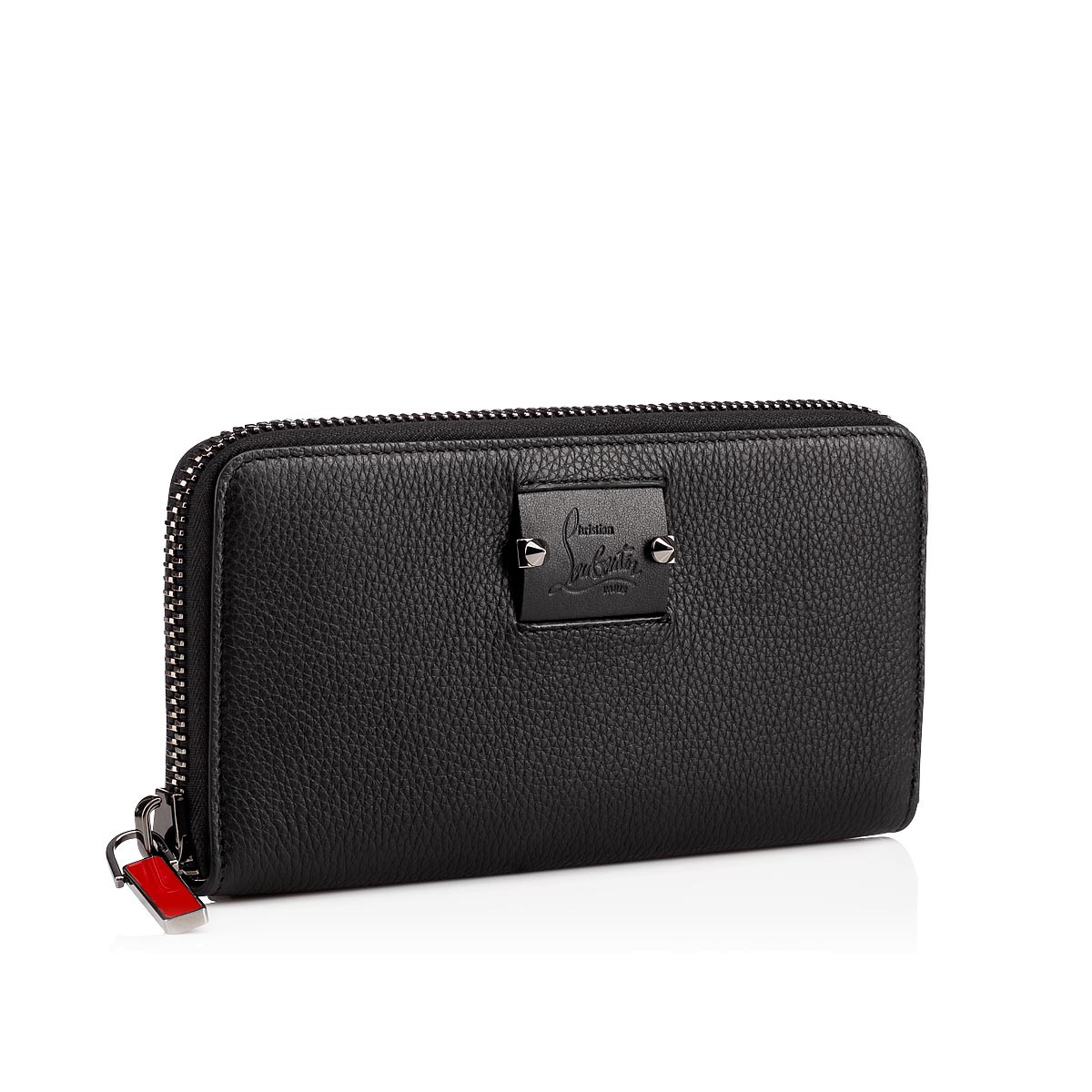 5928132cad3 Panettone Wallet Black Calfskin - Accessories - Christian Louboutin