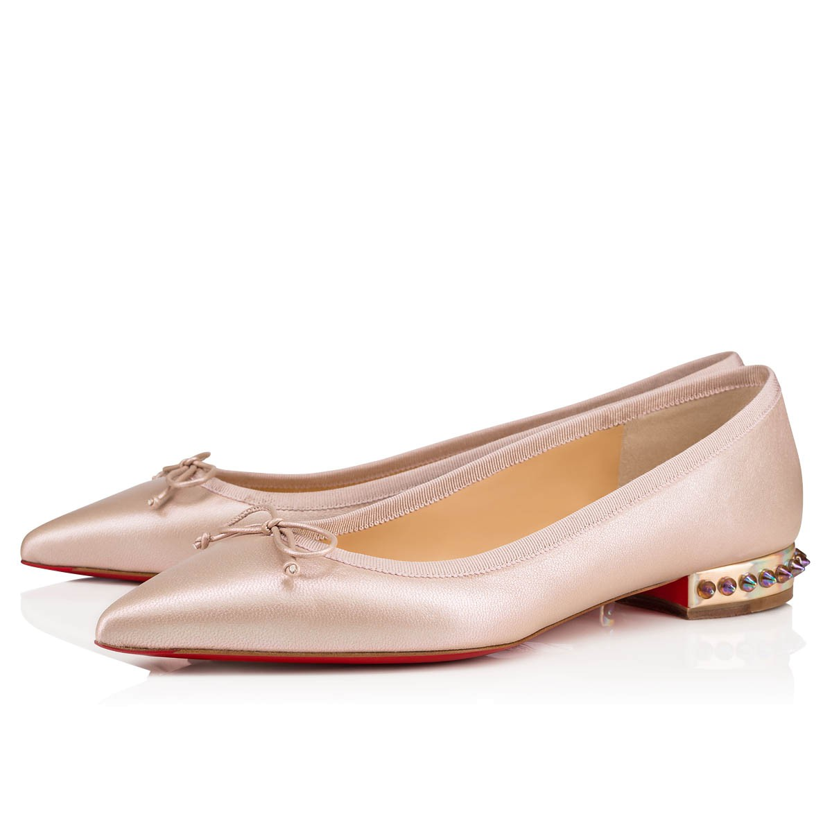 huge discount bf2bb e0c17 Hall Flat Version Nude Nappa AB - Women Shoes - Christian Louboutin