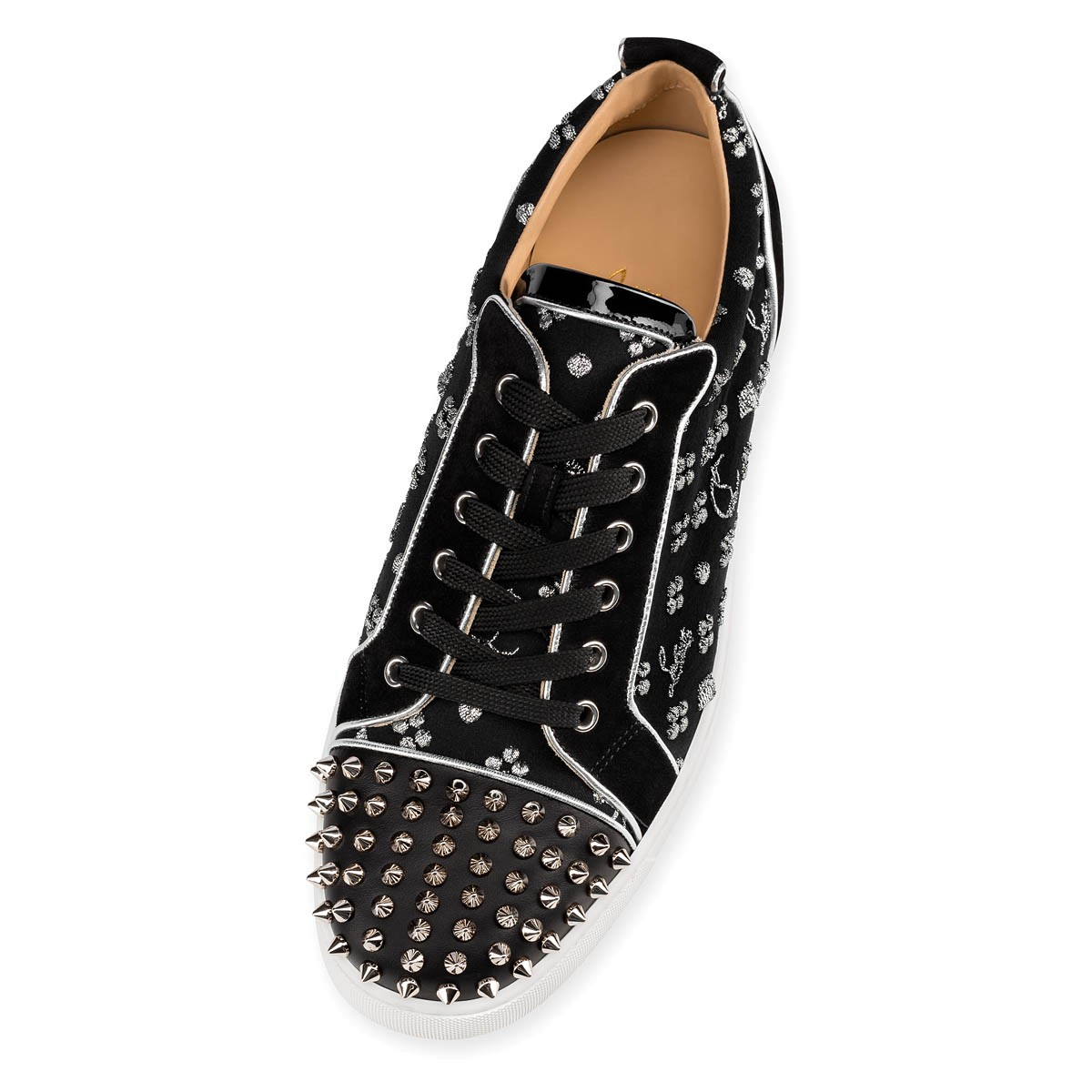 Shoes - Louis Junior Spikes Orlato Men's Flat - Christian Louboutin