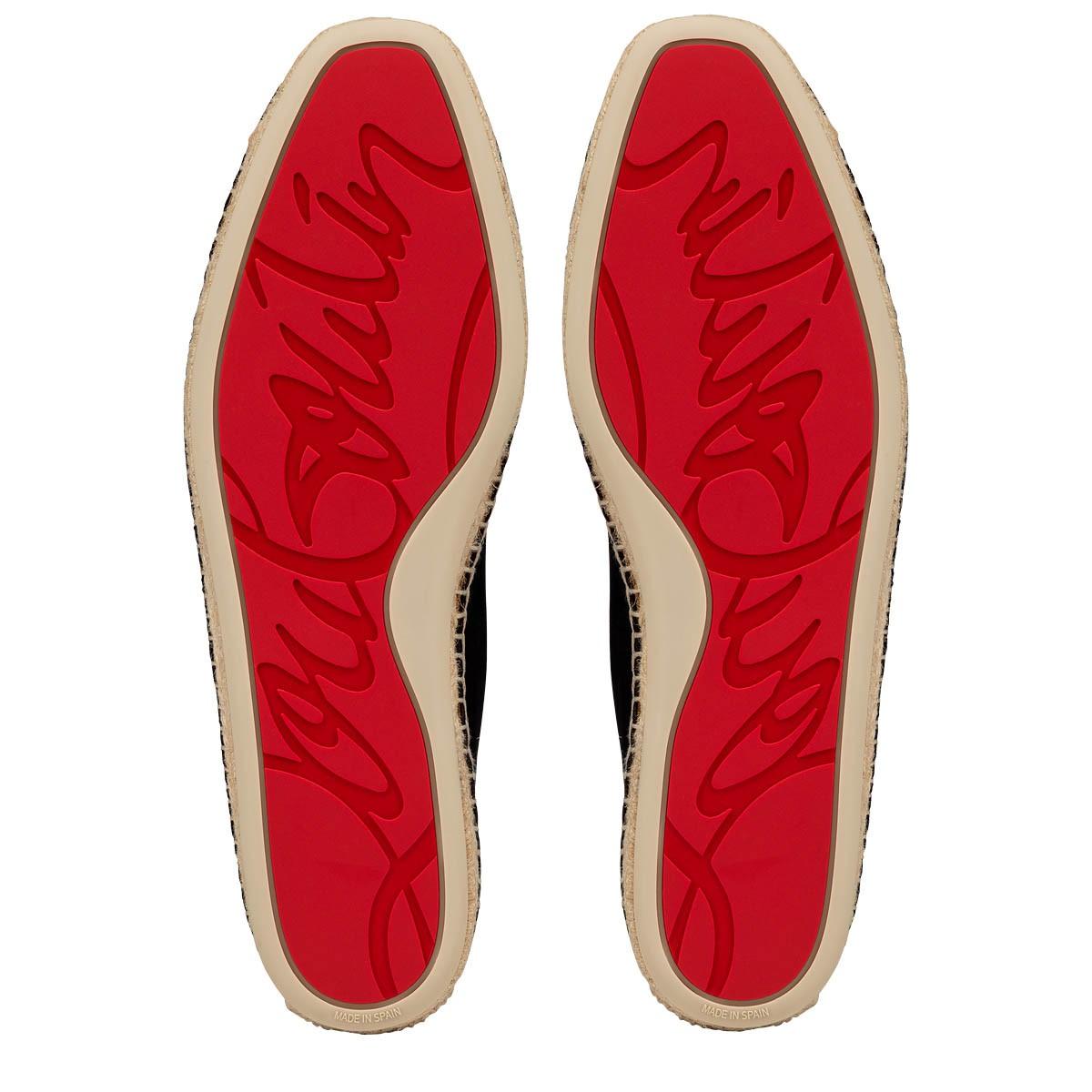 best service 77f4d 08e2f Nanou Orlato Flat Black Leather - Men Shoes - Christian Louboutin