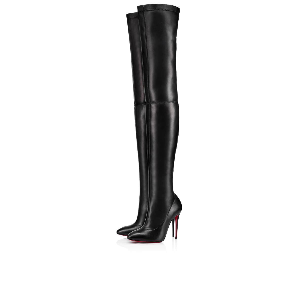 d22288bb9f4 ELOUIX 100 Black Leather - Women Shoes - Christian Louboutin