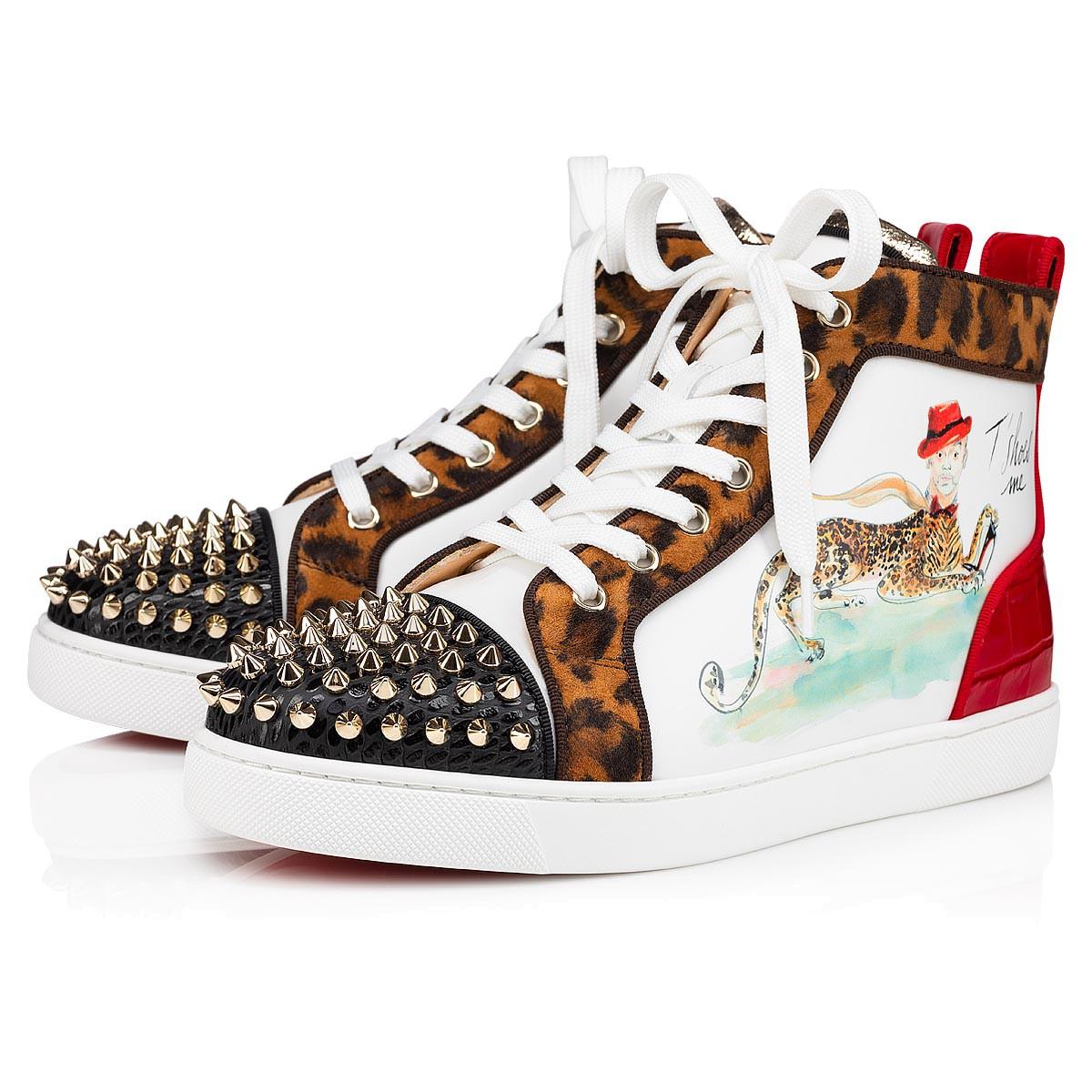 Shoes - Lou Spikes Paris Loubi Woman - Christian Louboutin