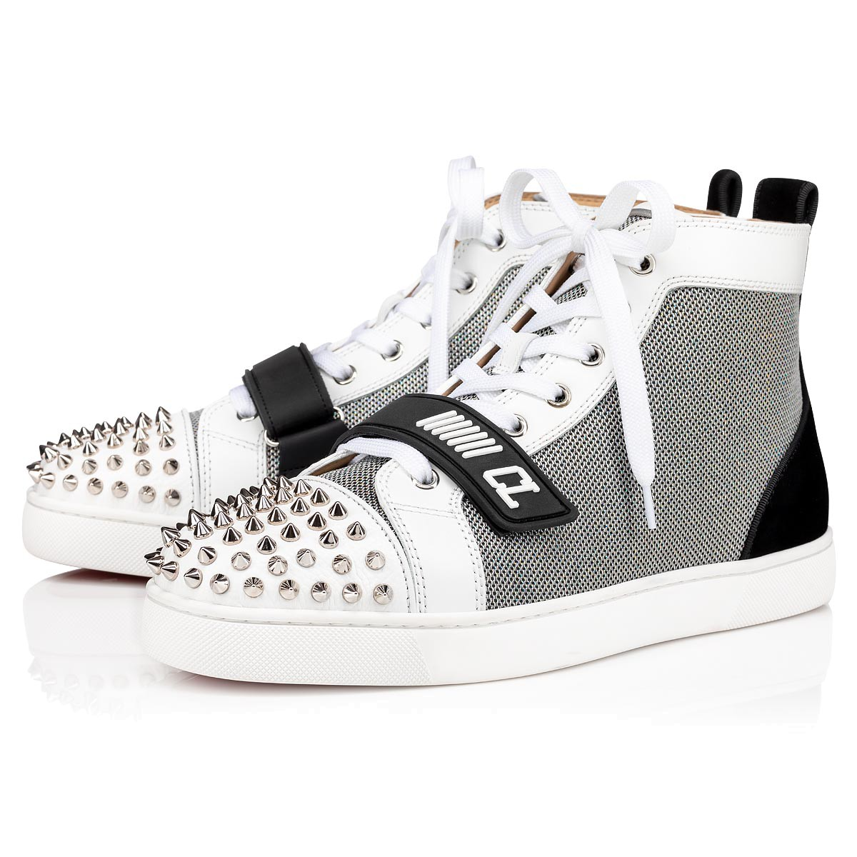 louboutin homme blanche