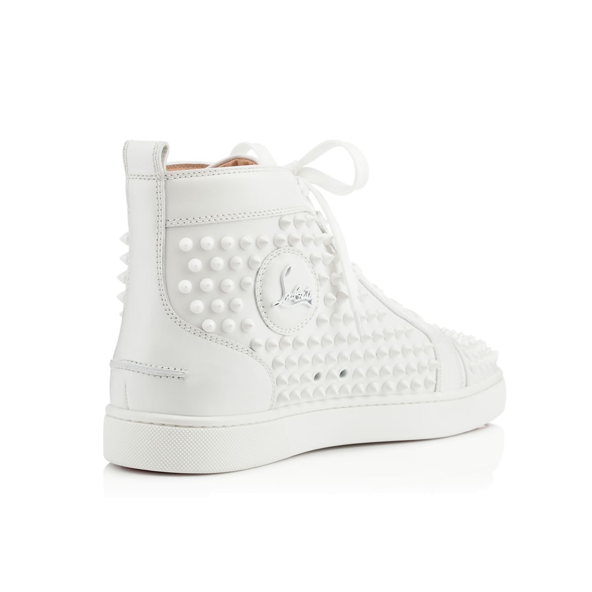 christian louboutin trainers white