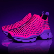 Shoes - Spike Sock Donna Flat - Christian Louboutin