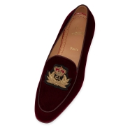 Shoes - Crest On The Nile Flat - Christian Louboutin