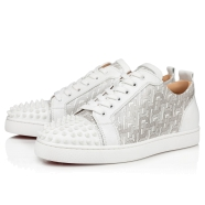 Shoes - Louis Junior Spikes Flat - Christian Louboutin
