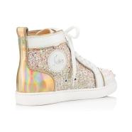 Shoes - Lou Spikes Womens Flat - Christian Louboutin