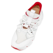 Shoes - Red Runner Donna Flat - Christian Louboutin