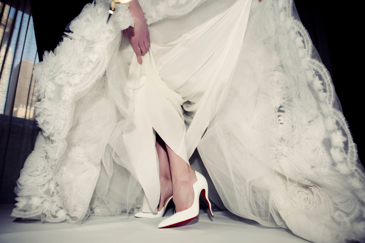 christian louboutin wedding collection