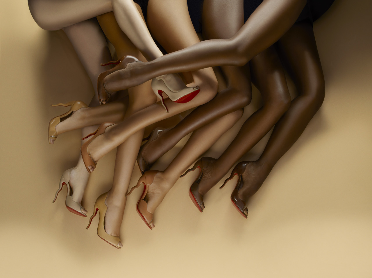 News - Christian Louboutin Online - Second Skin: Meet the Nudes