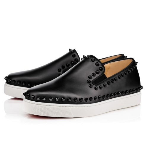 Shoes - Pik Boat Womens Flat - Christian Louboutin