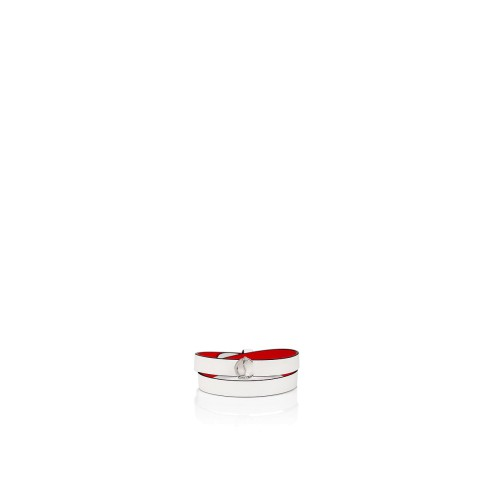Small Leather Goods - Loubilink Logo Bracelet Double - Christian Louboutin
