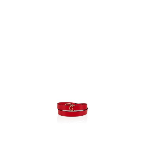 Small Leather Goods - Loubilink Logo Bracelet - Christian Louboutin