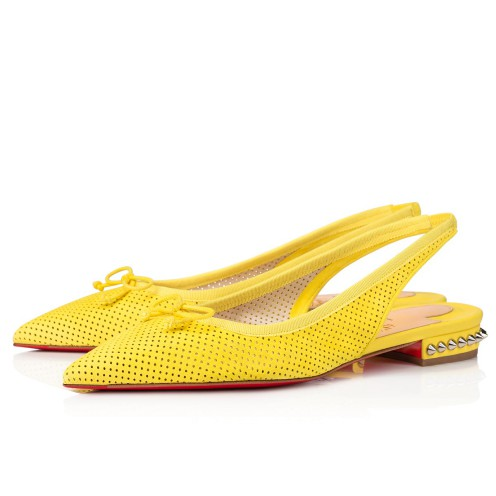 Shoes - Hall Sling Flat - Christian Louboutin