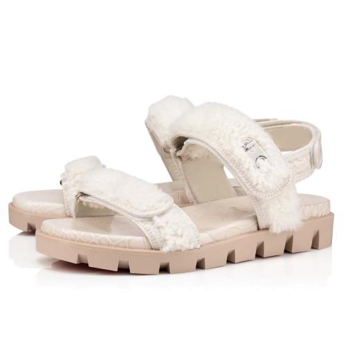 Shoes - Lock Wool Flat - Christian Louboutin