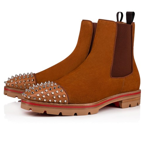 Shoes - Melon Spikes Flat - Christian Louboutin