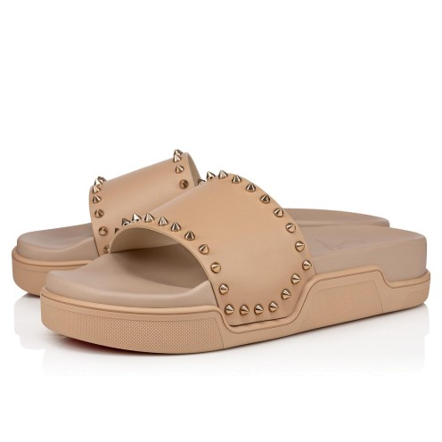 Shoes - Pool Stud Flat - Christian Louboutin