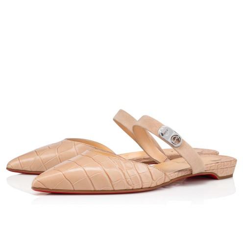 Shoes - Choc Lock Flat - Christian Louboutin