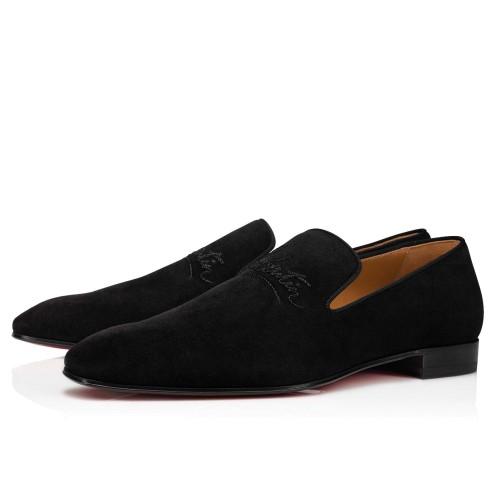 Shoes - Navy Dandelion Flat - Christian Louboutin