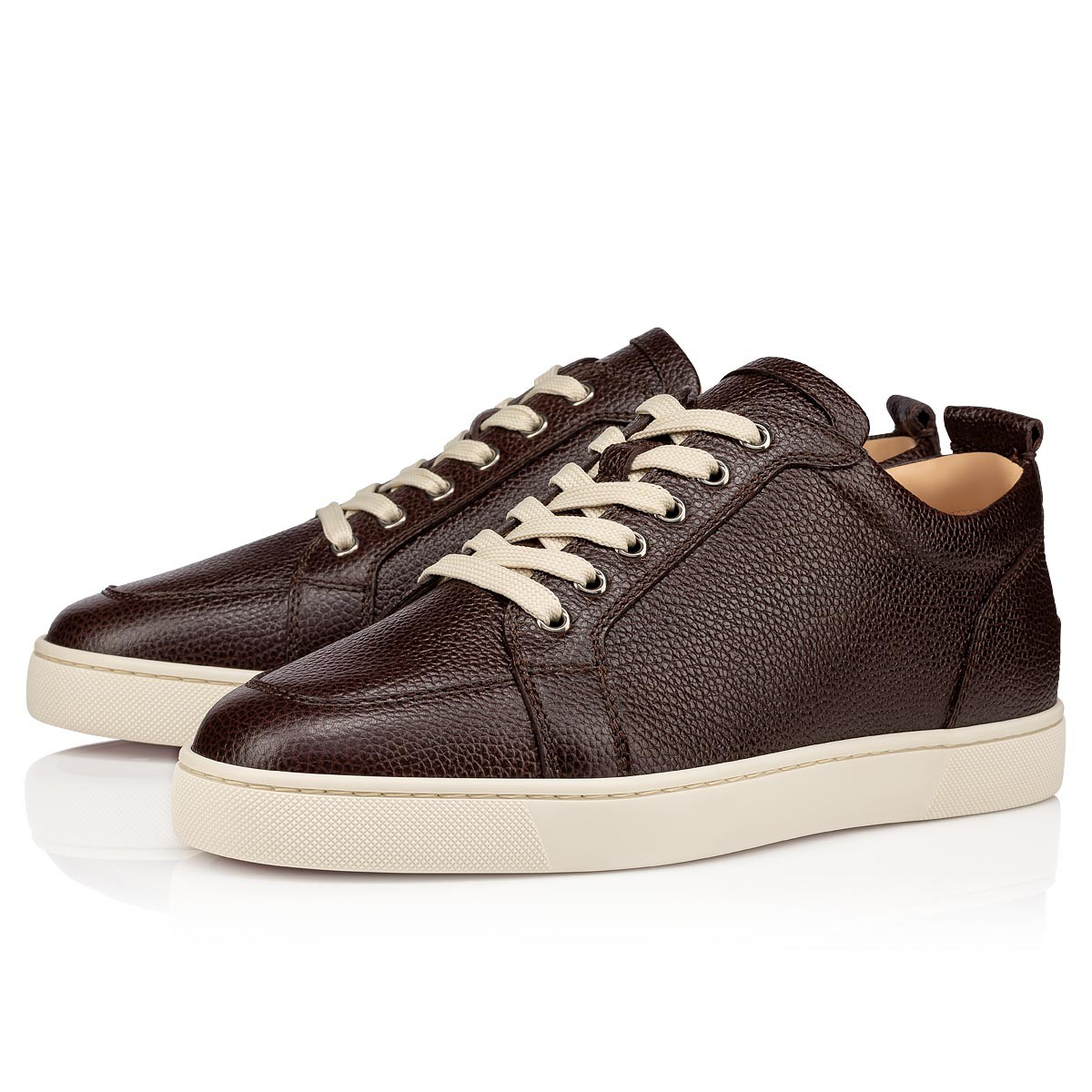 rantulow flat leather sneakers