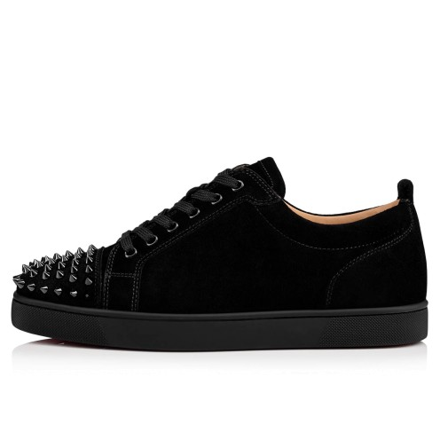 Shoes - Louis Junior Spikes Flat - Christian Louboutin_2