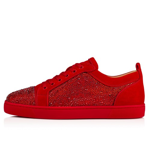 Shoes - Louis Junior Strass Flat - Christian Louboutin_2