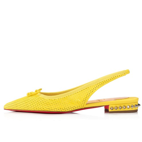 Shoes - Hall Sling Flat - Christian Louboutin_2