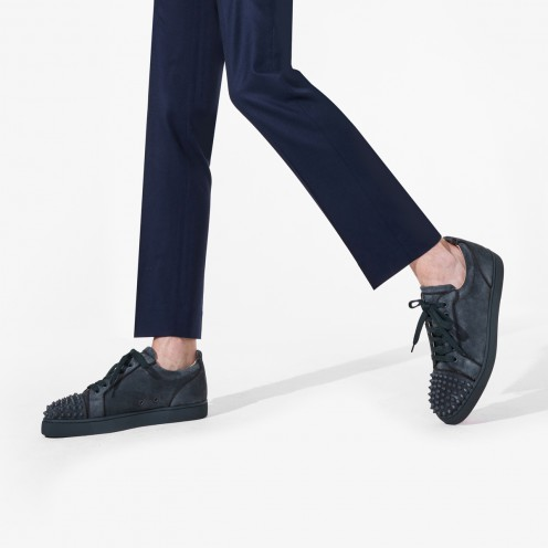 Shoes - Louis Junior Spikes Orlato Flat - Christian Louboutin_2