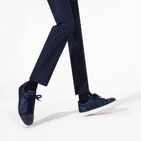 Shoes - Louis Junior Spikes Orlato Flat - Christian Louboutin_2