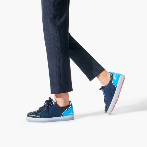 Shoes - Fun Louis Junior Spikes Flat - Christian Louboutin_2