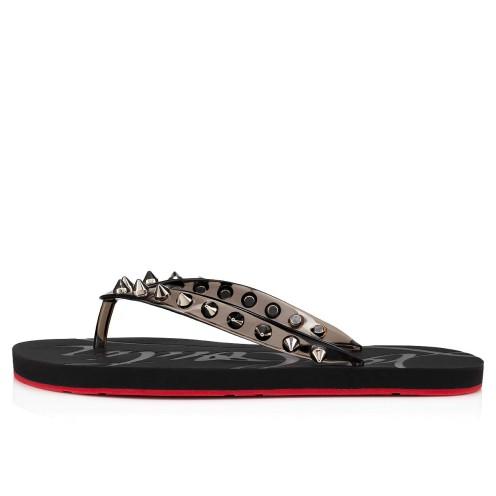 Shoes - Loubi Flip Spikes Donna Flat - Christian Louboutin_2