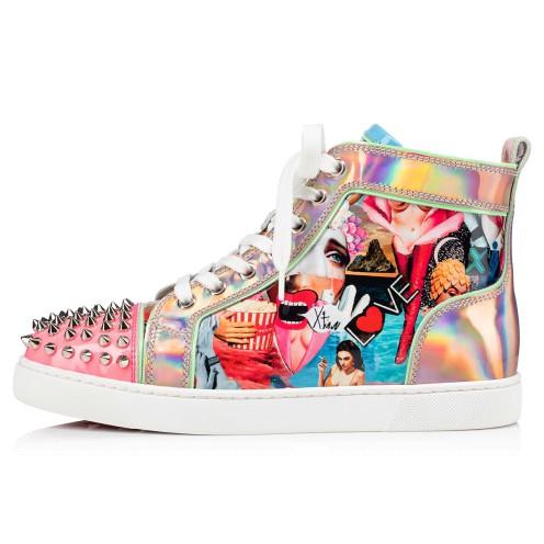 Shoes - Lou Spikes Woman Flat - Christian Louboutin_2