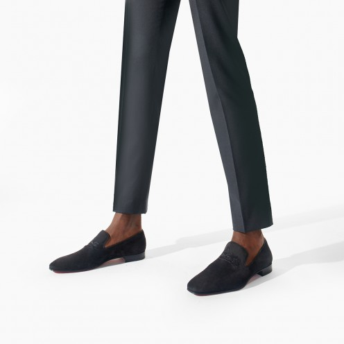 Shoes - Navy Dandelion Flat - Christian Louboutin_2