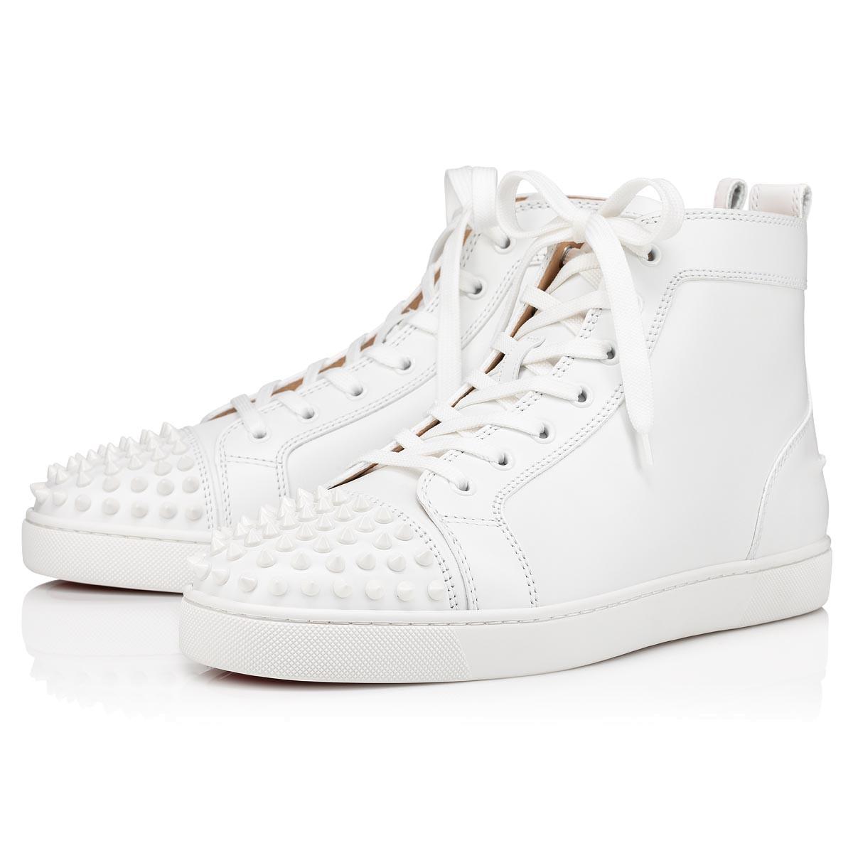 Shoes - Lou Spikes Flat - Christian Louboutin