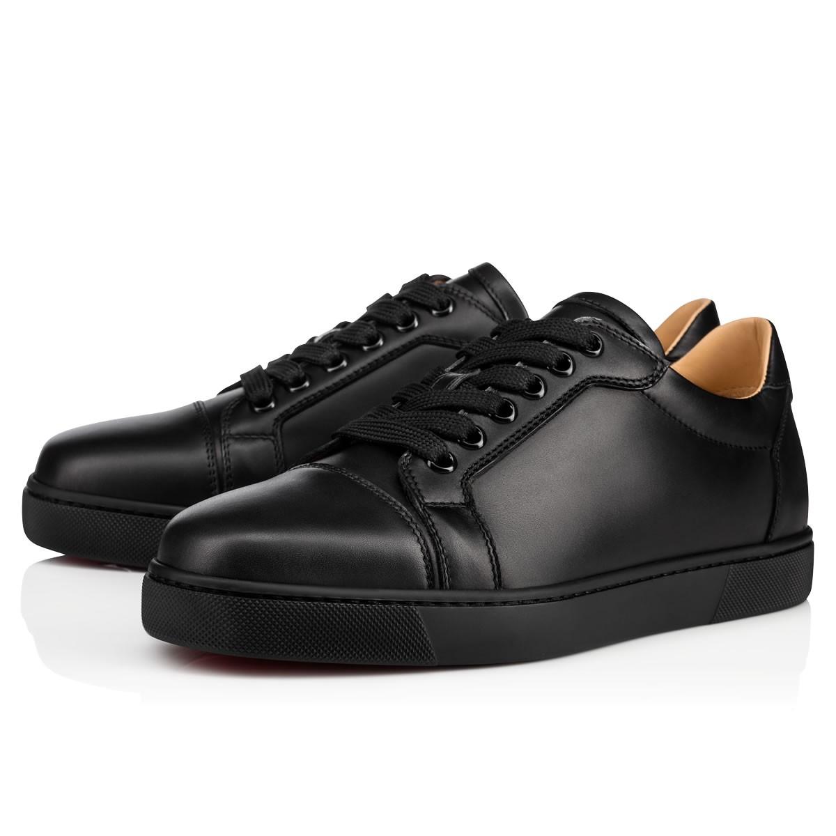 VIEIRA FLAT Black Leather - Women Shoes