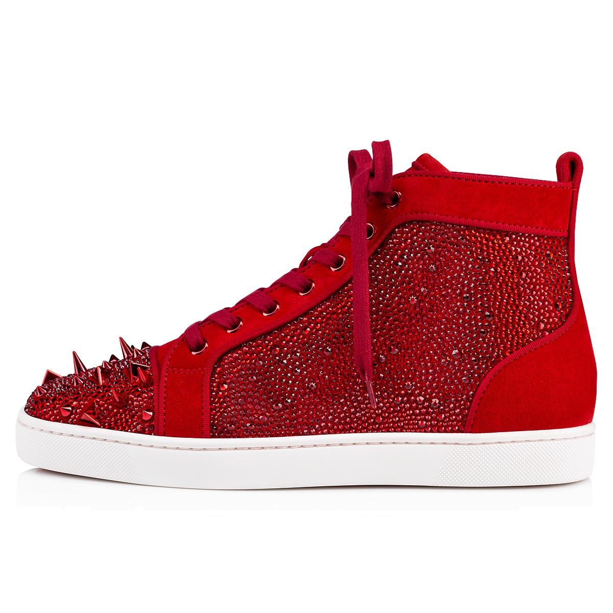 Shoes - Lou Pik Pik Strass Orlato Flat - Christian Louboutin