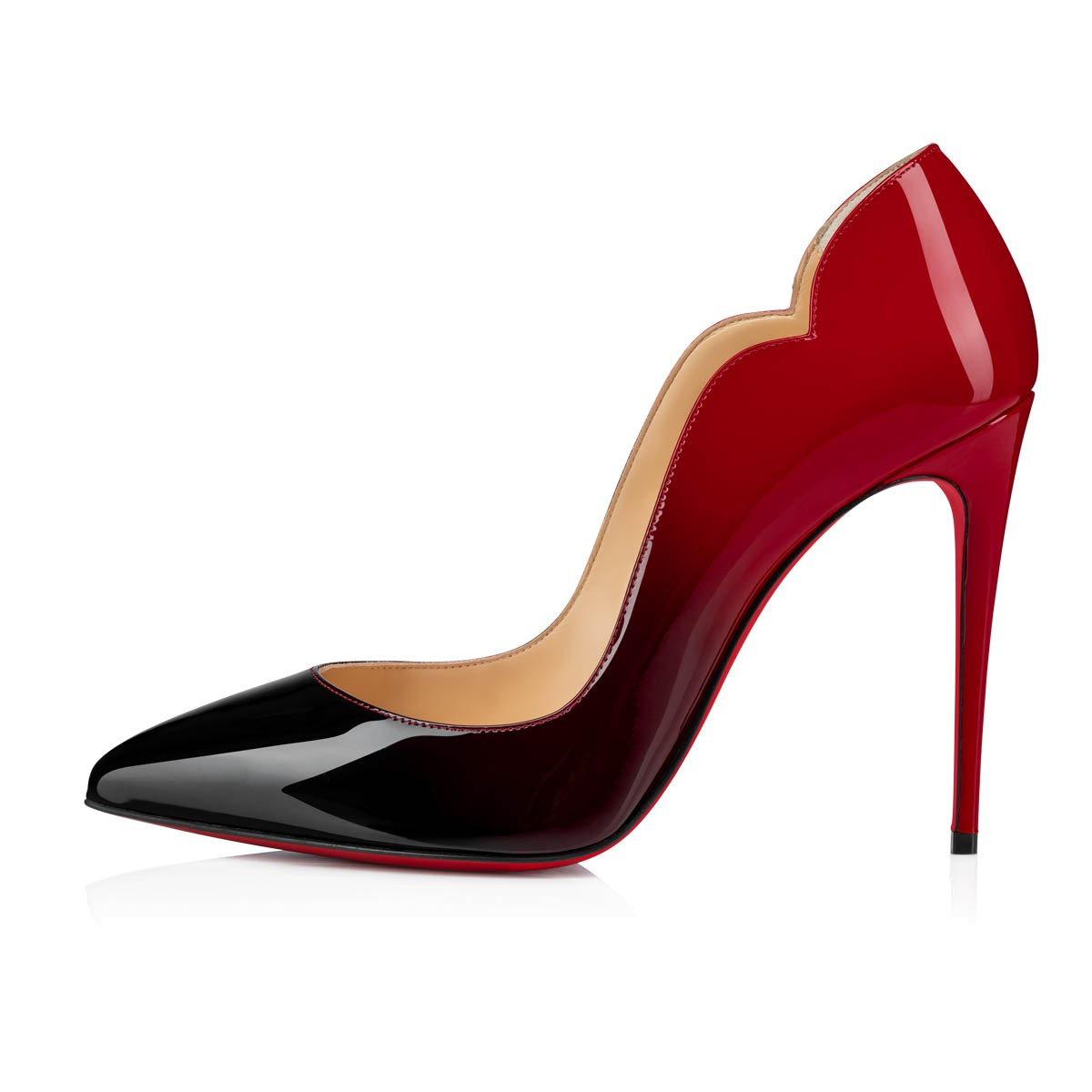 HOT CHICK 100 BLACK/RED PATENT - Women