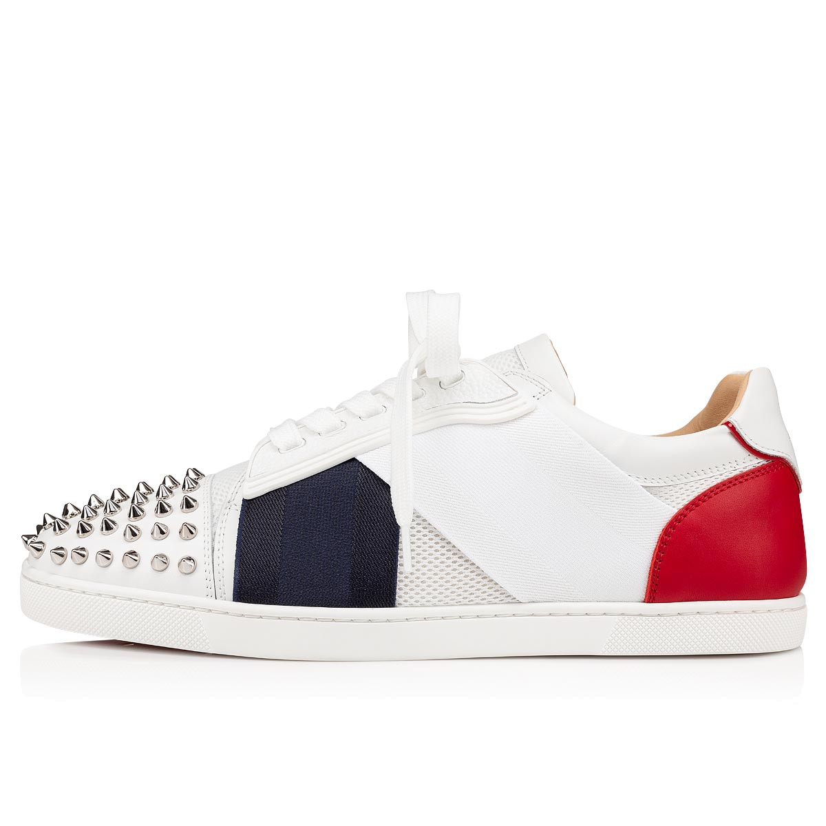 Shoes - Elastikid Spikes Donna Flat - Christian Louboutin