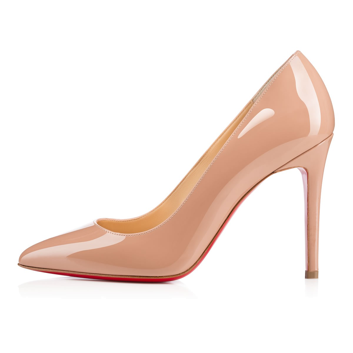 louboutin pigalle 100 beige
